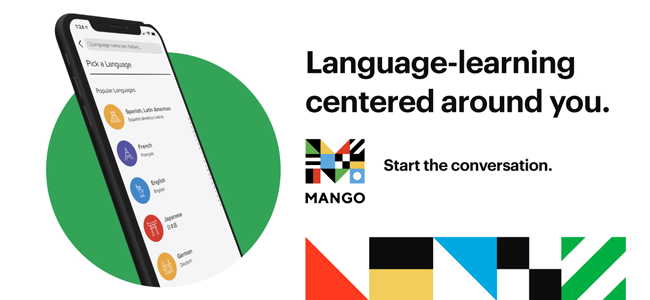 Mango Languages resource promotion slide