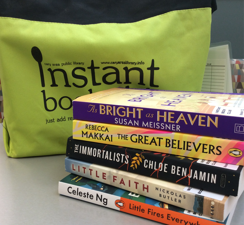 New Instant Book Club titles