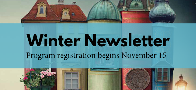 Cover of the winter newsletter