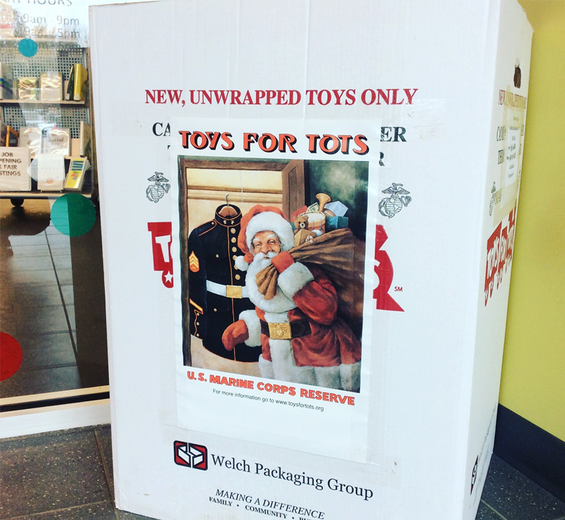 Toys for Tots drop-off location