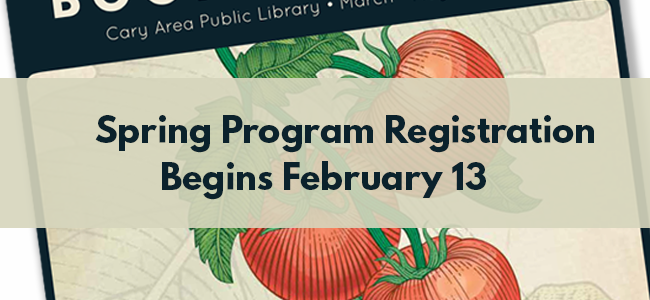 Spring program registration begins February 13