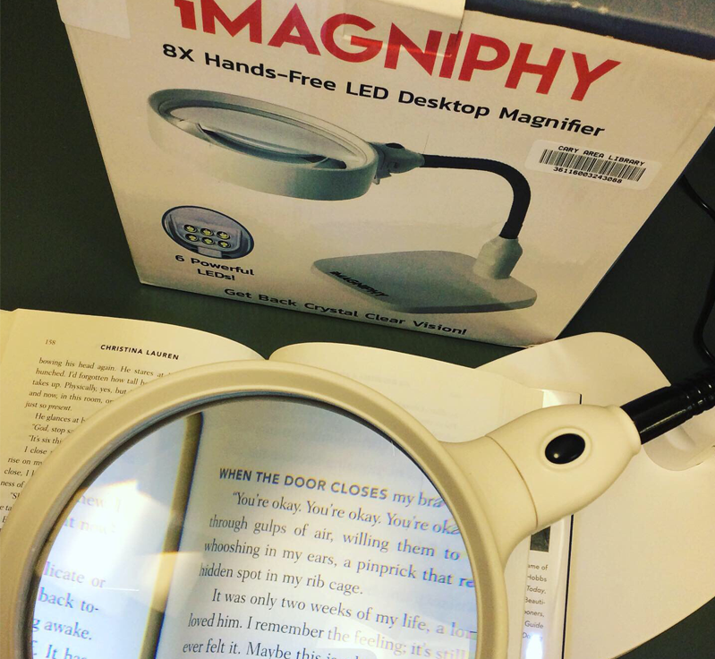 New desktop magnifier